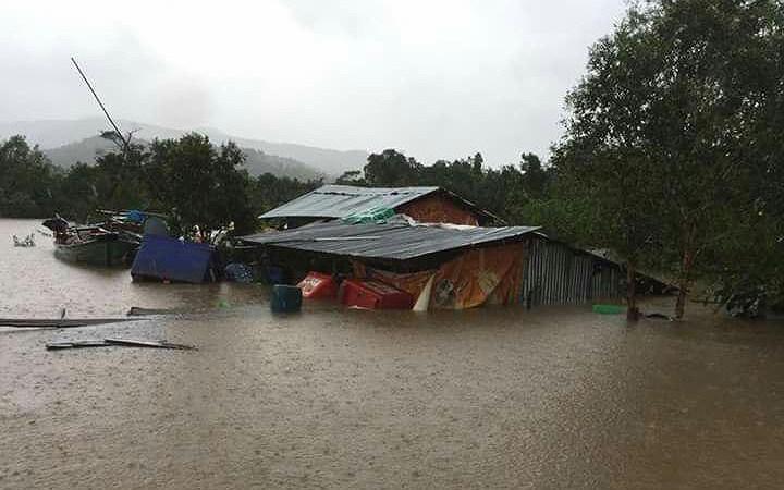 Campuchia chịu ảnh hưởng nghiêm trọng do mưa lũ