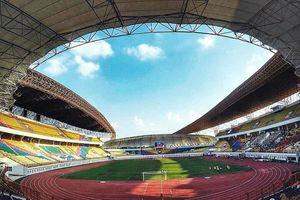Toàn cảnh sân đấu của U23 Việt Nam tại ASIAD 18