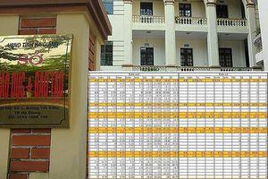 Nhiều con lãnh đạo, cán bộ tỉnh Hà Giang được nâng điểm bất thường
