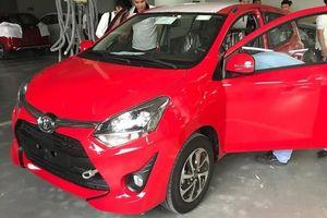 Toyota Wigo giá 400 triệu đồng tại Việt Nam đã ra đại lý