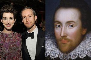 Dựa vào 2 điều này, cư dân mạng rộ lên chuyện 'duyên tiền kiếp' giữa Anne Hathaway và William Shakespeare
