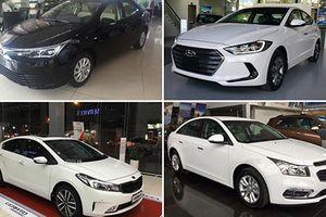 Những mẫu xe sedan hạng C số sàn giá từ 500 triệu tại VN