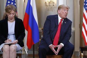 Nữ phiên dịch của Tổng thống Trump tại Thượng đỉnh Nga-Mỹ hứng chịu công kích