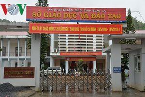 Tổ công tác của Bộ GD-ĐT đã đến Sơn La xác minh nghi vấn điểm thi