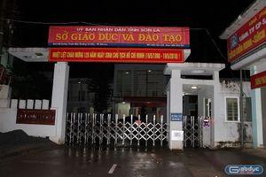 Sở Giáo dục Sơn La được bảo vệ nghiêm ngặt, xuyên đêm rà soát bất thường