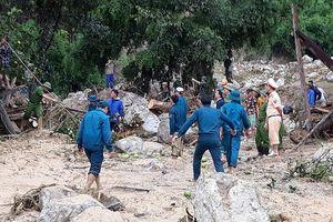 Lũ ống cuốn trôi nhà ở Thanh Hóa: Huy động hàng trăm người tìm kiếm nạn nhân mất tích