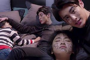 'Vườn sao băng' tập 13 và 14: Sam Thái và Đạo Minh Tự lại ngang nhiên ngủ chung giường