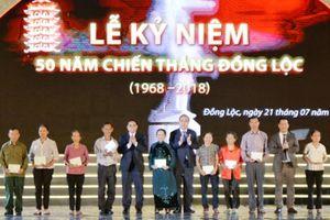 Thủ tướng dự Lễ kỷ niệm 50 năm Chiến thắng Đồng Lộc
