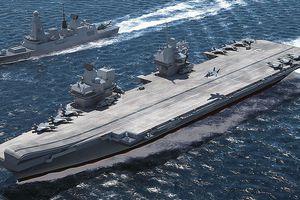 Không ngán Trung Quốc, Anh điều tàu sân bay đến tuần tra Biển Đông cùng Úc