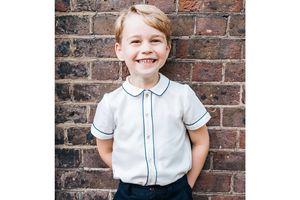 'Hoàng tử bé' nước Anh tròn 5 tuổi