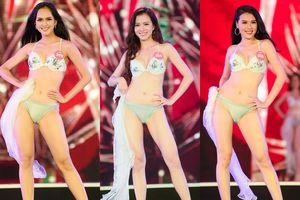 'Bỏng mắt' với phần thi bikini của thí sinh Hoa hậu Việt Nam 2018