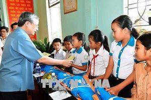 Thường trực Ban Bí thư Trần Quốc Vượng làm việc tại Gia Lai