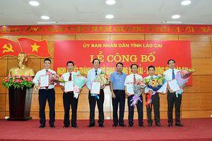 Ra mắt Ban Giám đốc Sở GTVT – Xây dựng Lào Cai sau khi hợp nhất