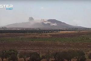 Xem quân đội Syria giáng hỏa lực vào IS ở khu vực có vị trí chiến lược