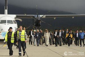 Nhật Bản kịch liệt phản đối việc Nga tịch thu điện thoại của phái đoàn thăm Kuril