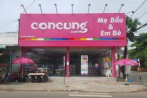 Thu giữ 5000 sản phẩm mập mờ xuất xứ tại chuỗi cửa hàng Con Cưng TP.HCM