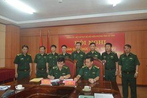 Bàn giao chức trách Chỉ huy trưởng BĐBP Hà Tĩnh