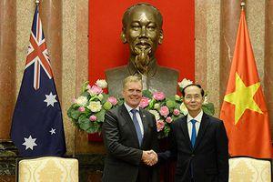 Chủ tịch nước Trần Đại Quang tiếp Chủ tịch Hạ viện Australia