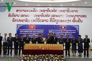 Công bố tác phẩm Hồ Chí Minh Toàn tập bằng tiếng Lào