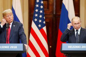 Tổng thống Donald Trump: Nga đã 'oải' trước khả năng lãnh đạo của tôi