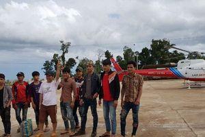 Hành trình trực thăng giải cứu công nhân Hoàng Anh Gia Lai bị mắc kẹt tại Lào