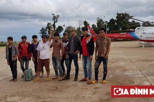 Trực thăng giải cứu thành công 26 công nhân HAGL mắc kẹt trong vụ vỡ đập thủy điện ở Lào