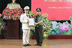Công an tỉnh Cao Bằng, Bắc Kạn có tân Giám đốc
