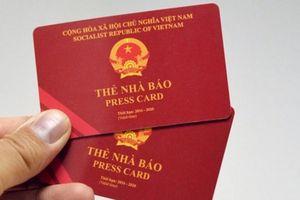 Thông báo mất Thẻ nhà báo, Thẻ hội viên mang tên ông Phan Đình Lam