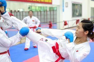 Đội tuyển Karatedo Việt Nam nỗ lực luyện tập trước thềm ASIAD 2018