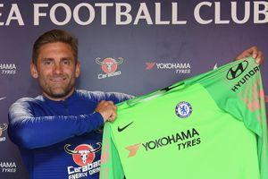 Chelsea chiêu mộ thành công thủ thành lão tướng Rob Green