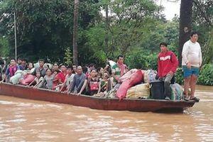 Vỡ đập thủy điện tại Lào: Chạy đua tìm người sống sót