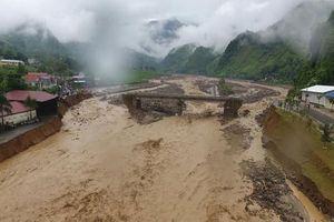 Ảnh hưởng của dải hội tụ nhiệt đới, Bắc Bộ, Trung Bộ đề phòng lũ, sạt lở đất