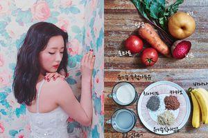 Học ngay Yoon Bomi (Apink) tự chế nước detox để giảm liền 2,4kg trong 1 tuần