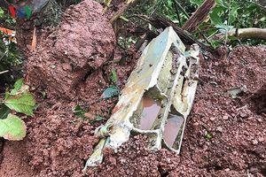 Bộ Quốc phòng chỉ đạo điều tra nguyên nhân máy bay Su-22 rơi