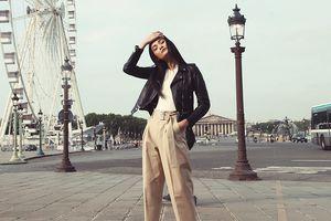 Thùy Trang mang nét phương Đông đến Paris