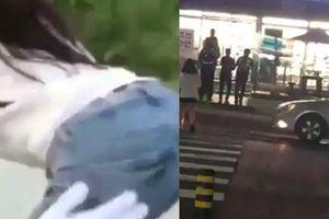 Bị cảnh sát bắt sau 2 phút vì vỗ mông gái xinh ngồi uống cà phê