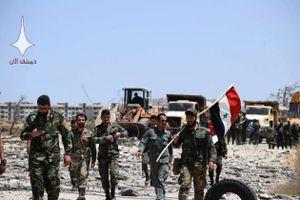 Chùm ảnh: Quân đội Syria tiếp quản pháo đài của phiến quân ở Bắc Quneitra