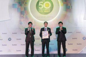 Đất Xanh lọt vào Top 50 công ty niêm yết tốt nhất Việt Nam