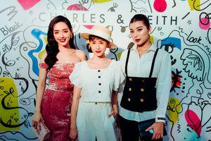 Khánh Linh The Face quyến rũ đi dự sự kiện khai trương cửa hàng mới của Charles & Keith