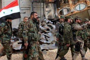 Chiến sự Syria: Quân chính phủ quét sạch IS tại thị trấn Nafia'a