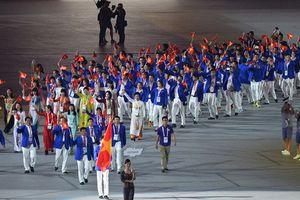 Đoàn thể thao Việt Nam dự ASIAD 2018 với hơn 500 thành viên