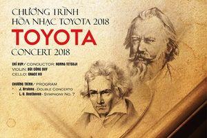 Toyota Concert 2018: Hòa nhạc hỗ trợ các tài năng trẻ âm nhạc