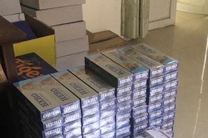 Thu giữ 1.500 bao thuốc lá vô chủ tại cửa khẩu Lệ Thanh