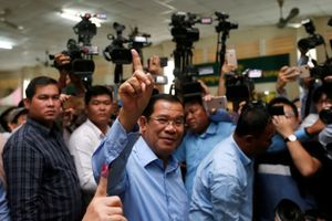 Đảng CPP của ông Hunsen tuyên bố thắng cử Quốc hội Campuchia