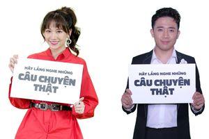 Vợ chồng Trấn Thành cùng Hoa hậu H'hen Niê vận động xây cầu nông thôn