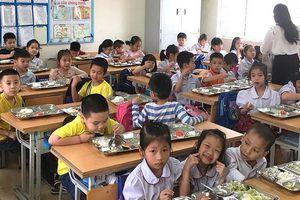 Nam Định triển khai dự án bữa ăn học đường