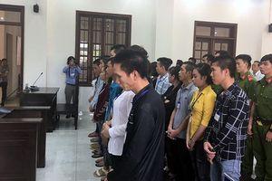 20 đối tượng gây rối tại Đồng Nai lĩnh án từ 8-18 tháng tù