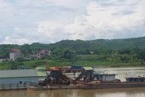 Nạo vét cảng ở Phú Thọ: DN 'bỏ ngoài tai' yêu cầu của Cục đường thủy
