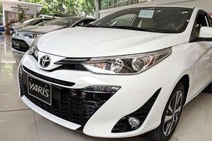 Cận cảnh Toyota Yaris 2018 về đại lý, giá khoảng 640 triệu