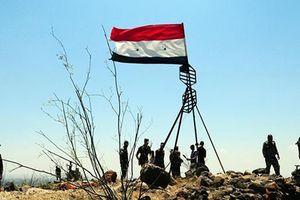 Quân đội Syria giải phóng toàn bộ vùng biên giới Cao nguyên Golan